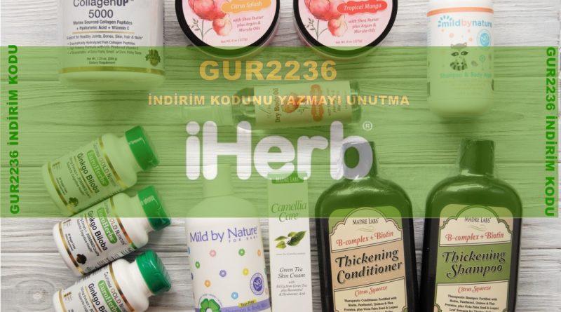 iherb.com suplement ürün getirme