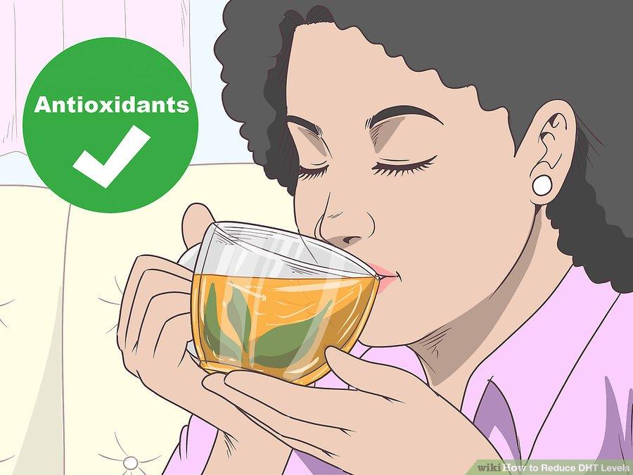 yeşil çay dht düşürür