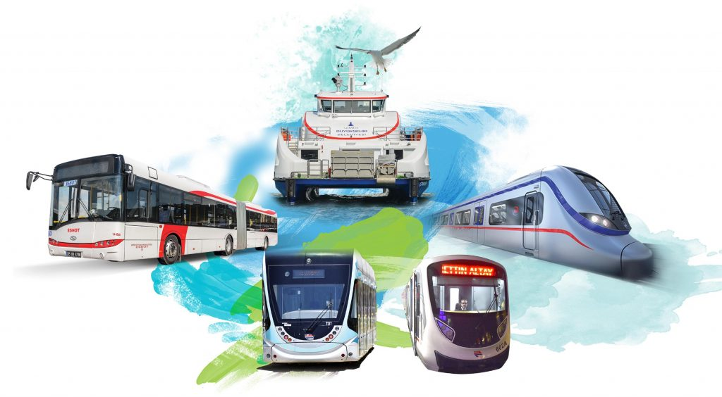 Metro Metrobüs Marmaray Tranway