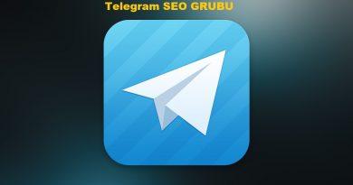 Telegram Seo Grubu Kanalı